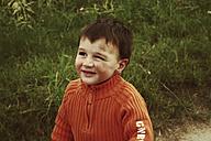Little boy with dirty face, Erkrath, Northrhine-Westphalia, Germany - SBD002770
