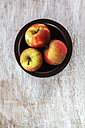 Bowl with three apples - EVGF001574