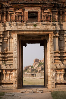 India, Karnataka, Achyuta Rayas Temple in Hampi - PCF000129