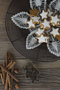 Cinnamon stars, spices and cookie cutter - ASF005531