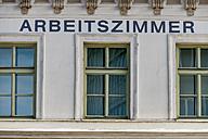 Austria, Linz, facade of death house of Adalbert Stifter - EJWF000751