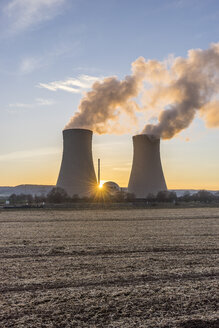 Germany, Lower Saxony, Grohnde, Grohnde Nuclear Power Plant - PVCF000384
