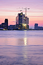 Germany, Hamburg, Elbphilharmonie at dawn - BRF001170