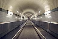 Germany, Hamburg, Old Elbe Tunnel - BRF001165