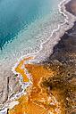 USA, Yellowstone Park, Hot spring, Black Pool, close-up - FOF007992