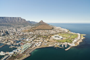 South Africa, aerial view of Cape Town - CLPF000074