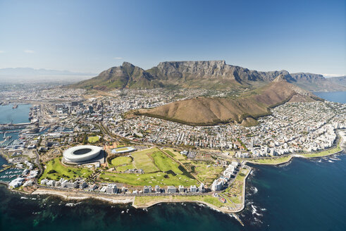 South Africa, aerial view of Cape Town - CLPF000075