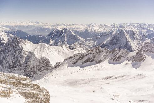 Germany, Bavaria, view from Zugspitze - FLF000855