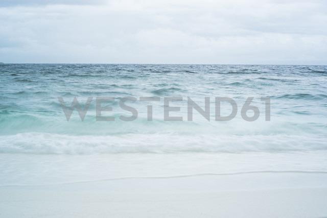 Maldives, Ari Atoll, heavy storm over the ocean - FLF000932