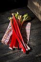 Rhubarb on cloth - MAEF010190
