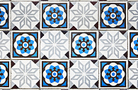 Old tiled floor of a Gruenderzeit building - DISF002026