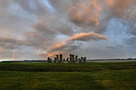 Great Britain, England, Stonehenge in the evening - PAF001290