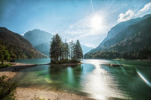 Italy, Friuli-Venezia Giulia, Lago del Predil - DAWF000355
