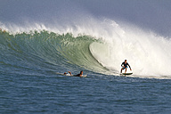 Indonesia, Bali, Surfing a wave - KNTF000031