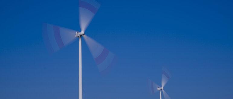 Germany, Tomerdingen, wind wheels - WGF000639