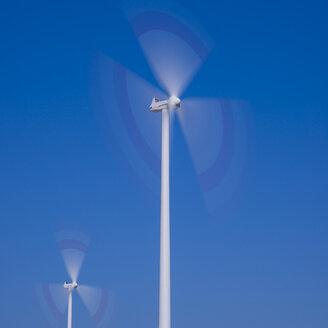 Germany, Tomerdingen, wind wheels - WGF000640