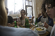 Friends eating together - FKF000962
