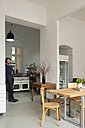 Owner in his modern individual bistro - FKF001052