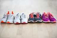 Row of four pair sneakers - CHPF000139
