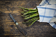 Organic green asparagus, Asparagus officinalis - LVF003248