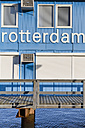 Netherlands, Rotterdam, container office construction - MS004552