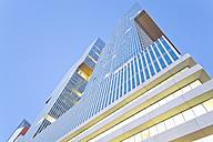 Netherlands, Rotterdam, Kop van Zuid, facade of office building De Rotterdam - MSF004538