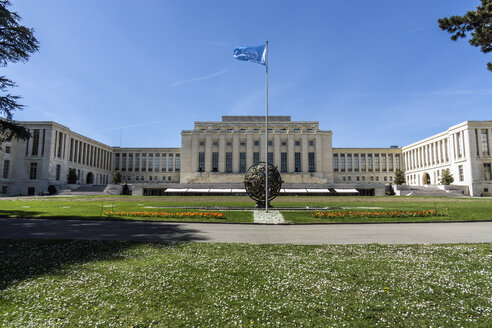 Switzerland, Geneva, Palace of Nations - WE000335