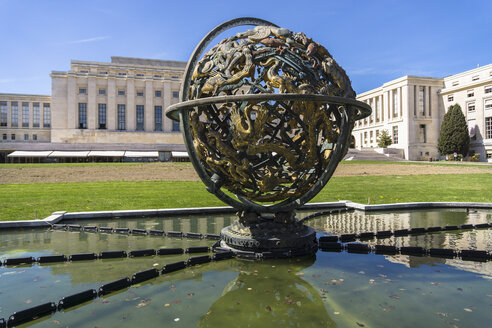 Switzerland, Geneva, Palace of Nations - WE000336