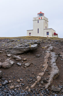 Iceland, Dyrholaey, view to light house - KEBF000167