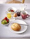 Laid breakfast table - KSWF001459