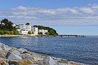 Germany, Ruegen, Sassnitz, Hotel Fuerstenhof at the waterfront - LHF000471
