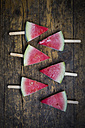 Six watermelon popsicles - LVF003346