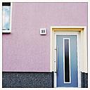 Coloured house front in Dessau, Germany - MEM000734
