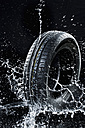 Car tyre in wetness - MAEF010439