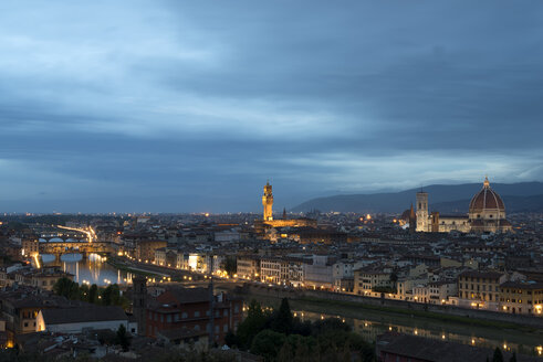 Italy, Florence, View of the city - MKFF000203