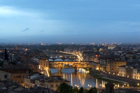 Italy, Florence, Ponte Vecchio - MKFF000206