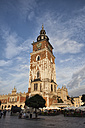 Poland, Krakow, Old Town, Main Market Square, Town Hall Tower - ABOF000013