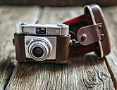 Antique camera on old wood - MGO000230