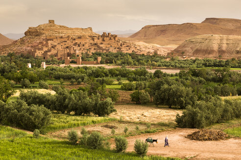 Morocco, Kasbah Ait Benhaddou near Oarzazate - FCF000670