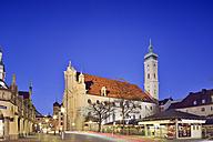 Germany, Bavaria, Munich, Holy Spirit Church on Viktualienmarkt - BRF001230