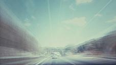 Motion blurred road, Stuttgart Germany - FL001022