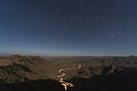 Ethiopia, Lalibela and desert at night - PAF001398