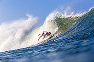 Indonesia, Bali, Surfer's wipeout - KNTF000038