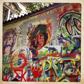 Prague, John Lennon wall - EGB000105