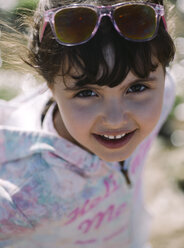 Portrait of smilling little girl - MGOF000254