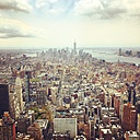 USA, New York, Manhattan, view from Empire State Building - SEG000335