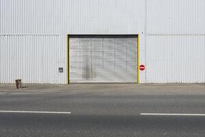 Germany, Duesseldorf, Industrial harbour, gateway - VIF000304