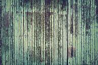 Weathered green old barn door - GUFF000116