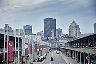Canada, Montreal, view to skyline - MHCF000003