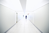 White passageway at underground - MHC000006